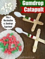 How to Make a Gumdrop Catapult