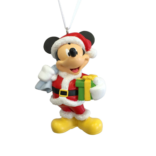 Creative Ways to Give Experiences to Kids: A Mickey Mouse ornament for a trip to Disneyland