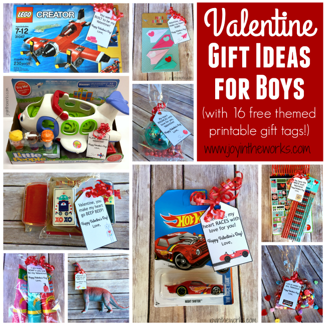 Simple Valentine Gift Ideas For Boys Joy In The Works
