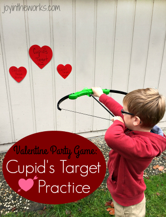 Valentine Party Game: Cupid's Target Practice