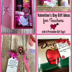 Looking for creative Valentine's Day gift ideas for teachers? Check out these 8 different themed ideas and free printable gift tags!