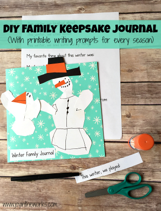 DIY Family Keepsake Journal: Winter