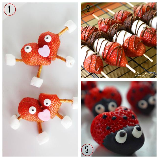 Valentine S Day Food Crafts For Kids Strawberries