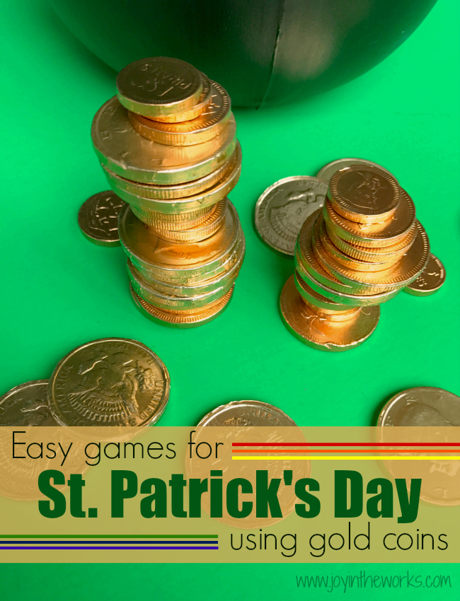 St Patricks Day Gold Coin Games