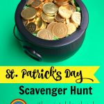 Forget catching the Leprechaun, all you have to do is find his pot of gold! Simply print out and follow the clues for this free printable St. Patrick's Day Scavenger Hunt and you will find the gold Lucky the Leprechaun left behind!