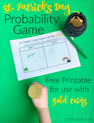 St. Patrick's Day Gold Coin Flip Game