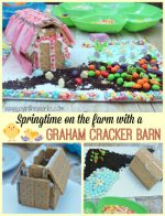 Springtime on the Farm: Graham Cracker Barn