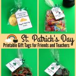 St. Patrick's Day Gifts with Free Printable Gift Tags