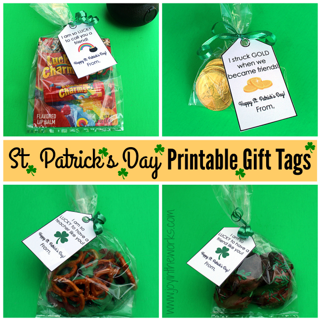 These simple  St. Patrick's Day gifts are perfect for friends, family, teachers or your own family! From dipped Oreos and pretzels to chocolate gold coins to Lucky Charms lip balm - these all would make the perfect token gift and are a great way to show someone how much you care.