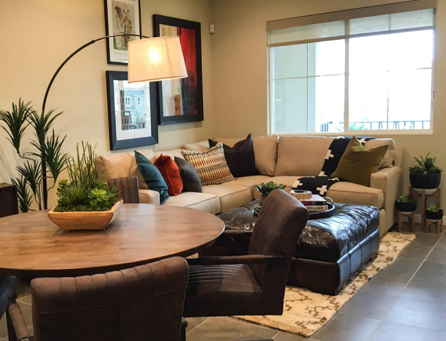 Bayshores Model Home Community Grand Opening Event in Newark on Saturday April 22, 2017 featuring model homes like this one for inspiration (or purchase!) Includes Giants tickets #giveaway #ad