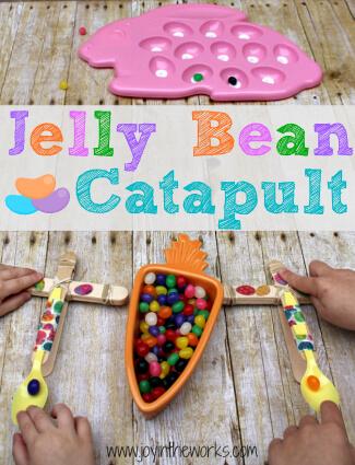 Jelly Bean Catapult for Easter