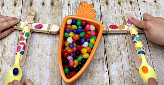 Jelly Bean Catapult For Easter Joy In The Works