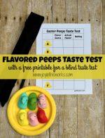 Flavored Peeps Taste Test