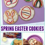 Spring Easter Cookies with Twizzlers