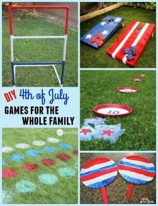 DIY 4th of July Games for the Whole Family