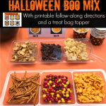 Halloween Boo Mix with Printable Follow Along Instructions