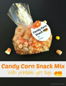 Candy Corn Snack Mix with Printable Gift Tags - Joy in the ...