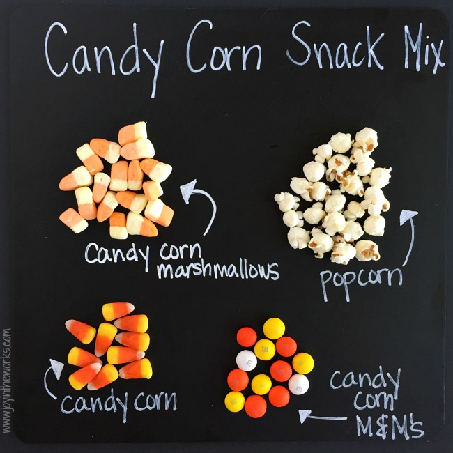 This Candy Corn Snack Mix is a must for all Candy Corn Lovers out there! It's the perfect Halloween treat of sweet and salty and comes with printable gift tags to give it away to friends and neighbors (if you have any left!)