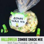Zombie Snack Mix with Popcorn