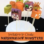 Marshmallow Monsters Halloween Treats