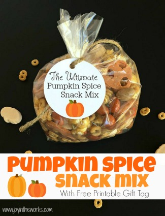 The Ultimate Pumpkin Spice Snack Mix