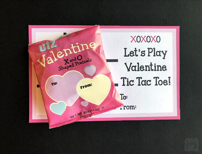 give a tic tac toe game with this free printable tic tac toe valentine even