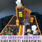DIY Graham Cracker Haunted Mansion