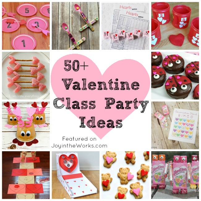 Looking for inspiration for a Class Valentine's Day Party? I have gathered over 50 ideas that will help you plan the entire Kid's Valentine's Day Party! From Valentine's Day Crafts to Valentine's Day Party Games and Activities to Valentine's Day Treats, we've got you covered with tons of ideas! #valentinesdayparty #classvalentinesdayparty #valentinesdaycrafts #valentinesdayactivities #valentinesdaygames #classroommom #roommom