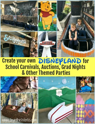 Create Your Own Disneyland Party or Event