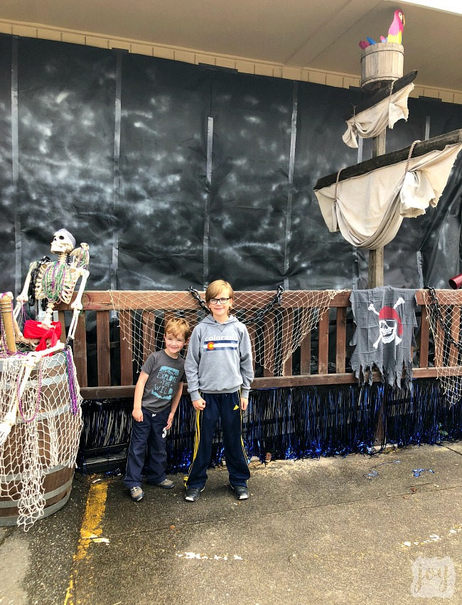 "Our replica of the Pirates of the Caribbean ride as a part ""The Happiest School on Earth"" as we turned our school into Disneyland. You can create your own Disneyland too!"