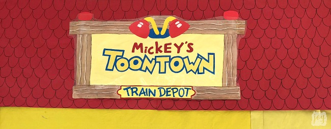 "The Mickey's Toontown sign as a part ""The Happiest School on Earth"" as we turned our school into Disneyland. You can create your own Disneyland too!"