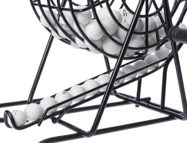 Bingo Ball Cage