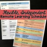 A Flexible and Independent Remote Learning Plan