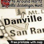 Hearts Around Hartz Scavenger Hunt