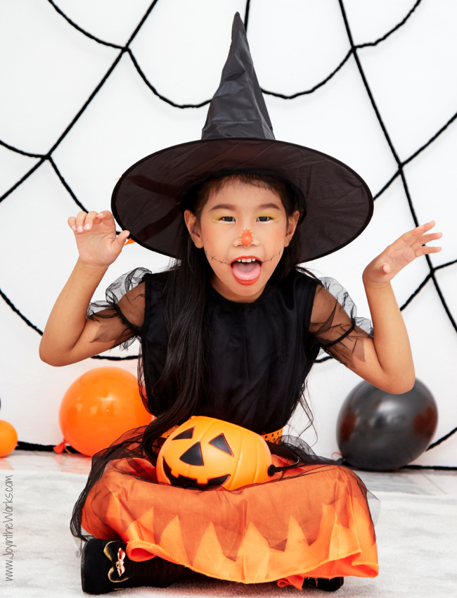 Play Halloween Charades during your Virtual Class Halloween Party!