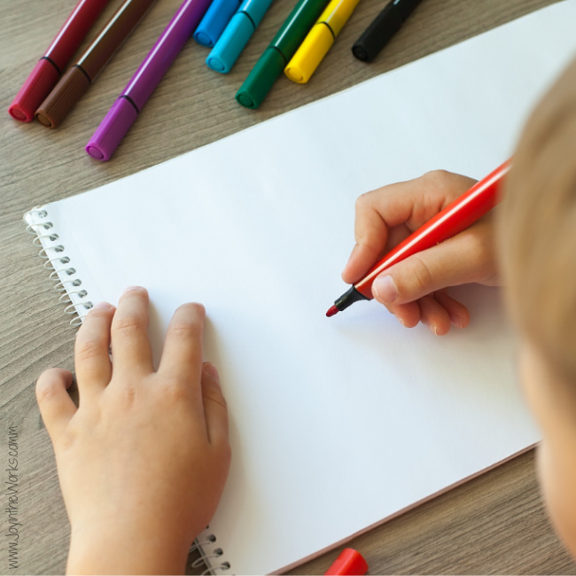 Do a  Halloween Directed Draw or the Drawing Game during your Virtual Halloween Party for kids!