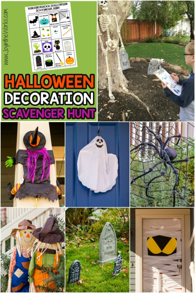 Looking for social distancing Halloween activities or need a safe, trick or treat alternative during the pandemic? This free printable Halloween Scavenger Hunt is the perfect solution! Drive around on Halloween night looking at decorations from your car (while munching on candy!) or even just walk around your own neighborhood in the days leading up to Halloween, staying socially distant from others. Halloween can still be fun in 2020!